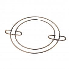 Держатель бокалов круг бронза MX-054 ВА
