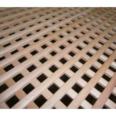 Решетка фасадная плоская 700х1400 (дерево)