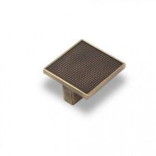 Ручка-кнопка EL-7020 32мм атласная бронза АКЦИЯ
