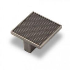 Ручка-кнопка EL-7020 32мм атласное серебро