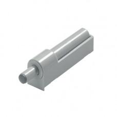 Демпфер универс для петель под прикручивание, прямой, пластик серый 69846