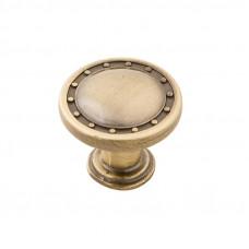 Ручка-кнопка RK-006 27мм бронза