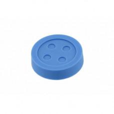 GTV Ручка мебельная UM-BUTTON пуговица, светло-синий