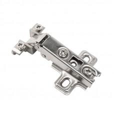 Петля д/алюминиевого профиля накладная slide-on, никель