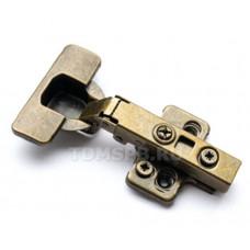 Петля накладная 110*clip-on БРОНЗАс довод/,СD35/110А2/2PC/BA,с отв. планкой,TDM