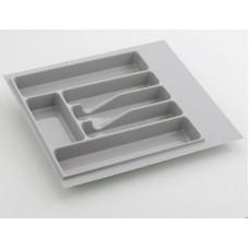 Лоток для столовых приборов Volpato 440 серый (Италия)
