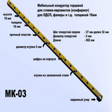 МК-03 Мебельный кондуктор система