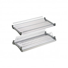Сушилка для посуды 2-х ур. 500мм с рамой и поддоном VARIANT3 хром