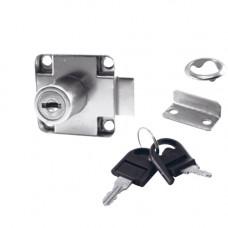 SETE Мебельный замок с двумя складными ключами, LS-138-FK