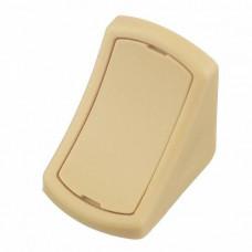 GTV Уголок пластиковый одинарный 512 слоновая кость,PM-NAR1003-512