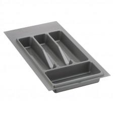 Вклад-лоток для столовых приборов Volpato 270 серый (Италия)