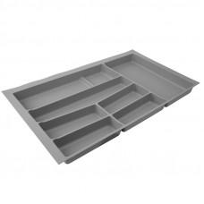 Вклад-лоток для столовых приборов Volpato 840 серый (Италия)