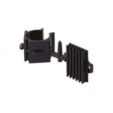 Клипса для ножек под цоколь ДСП, пласт., черн. Scilm (Италия) SLM0015