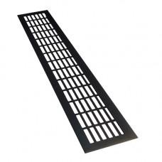 SETE Вентиляционные решетки,80*480,черный, VG-80480-20