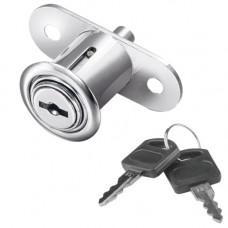 SETE Замок кнопочный для раздвижных дверей с 2-мя ключами LZ-105-DK