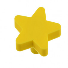 GTV Ручка мебельная UM-STAR звезда, желтый