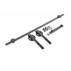 GTV Комплект раздвижной системы (ролики, направл., дорожка, шурупы) A-SN-LOFT-200-20M