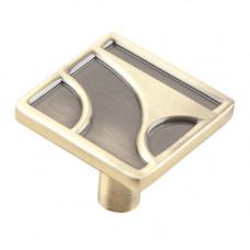Ручка-кнопка RK-032 античная бронза