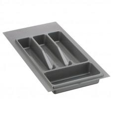 Вклад-лоток для столовых приборов Volpato 240 серый (Италия)