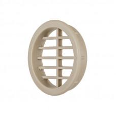 Вентиляционная заглушка круглая d=40мм (слоновая кость)